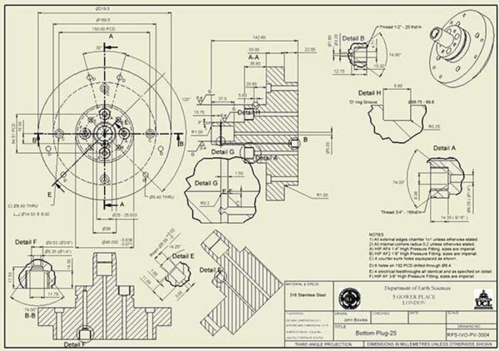 Bản vẽ cơ khí có ý nghĩa quan trọng với quy trình sản xuất, gia công cơ khí