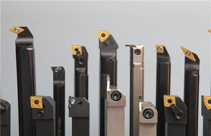 Các loại dao tiện được sử dụng rất đa dạng