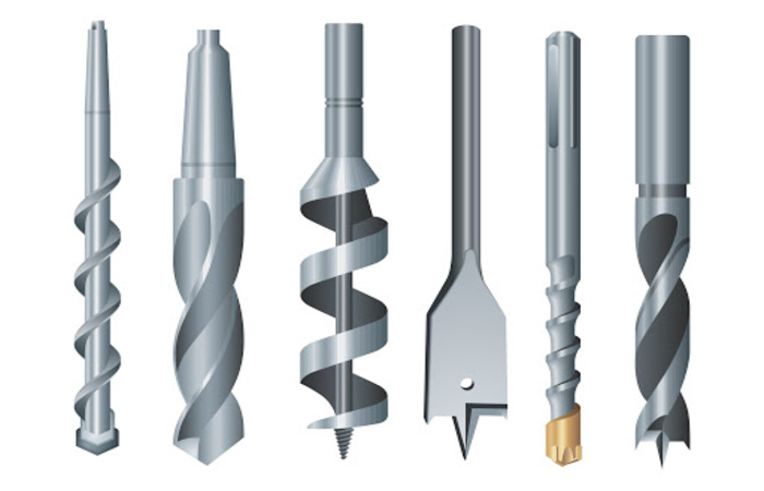 Các mũi khoan cũng được tính là một kiểu dao cắt kim loại