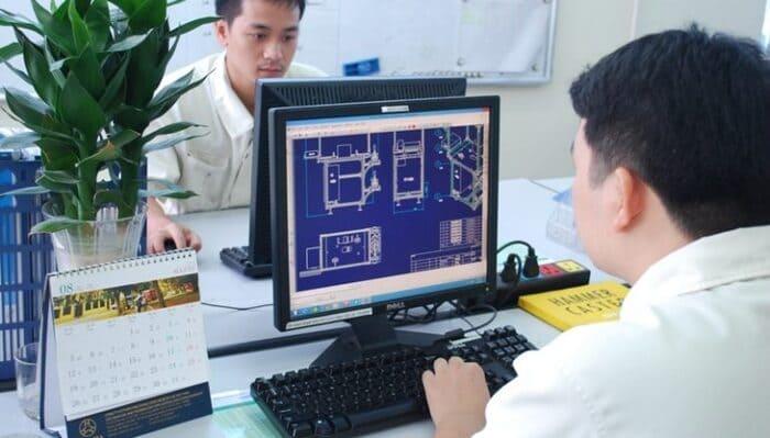 Nhiều sinh viên ngành cơ khí chế tạo máy hướng đến việc trong phòng kỹ thuật