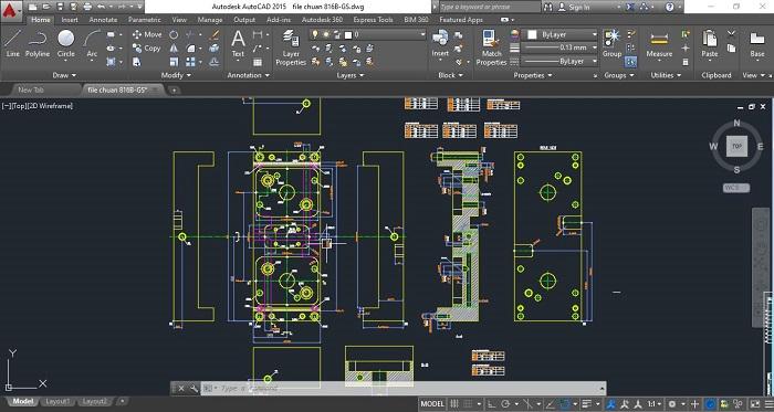 Auto CAD 2D vốn không còn xa lạ với giới thiết kế