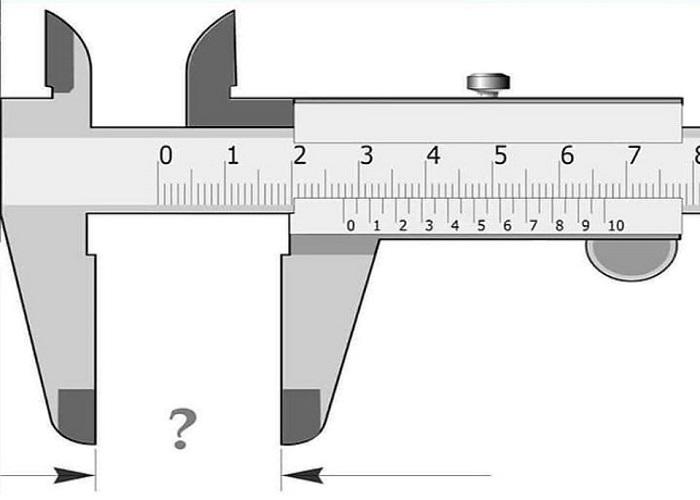 Cách đọc giá trị đo của thước kẹp