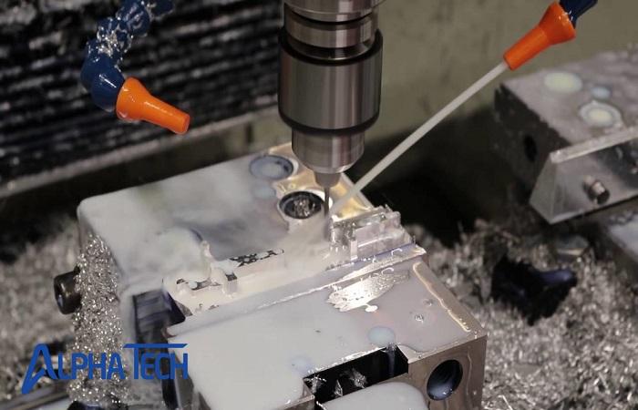 Phay là một trong những công nghệ gia công, sản xuất cơ khí phổ biến