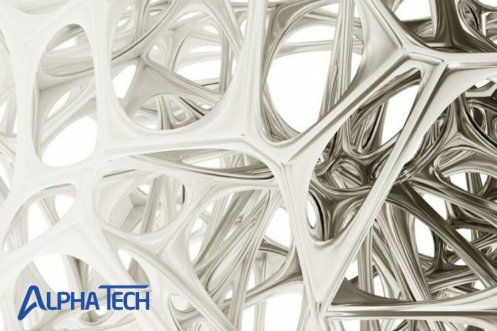 Cấu trúc dạng tinh thể lập phương giúp cho crom có độ cứng vượt trội