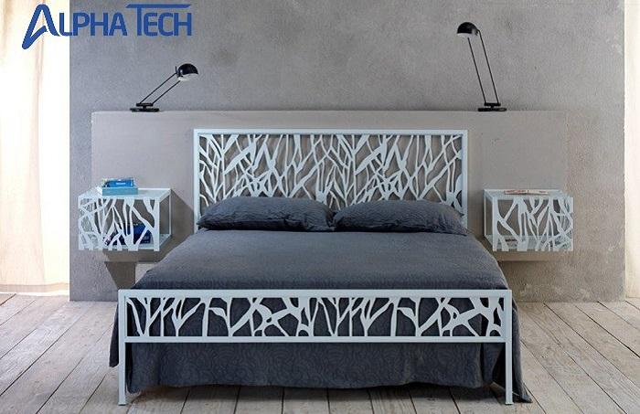 Giường ngủ ứng dụng công nghệ Laser đều khoác lên mình vẻ đẹp đầy thu hút và rất ấn tượng.