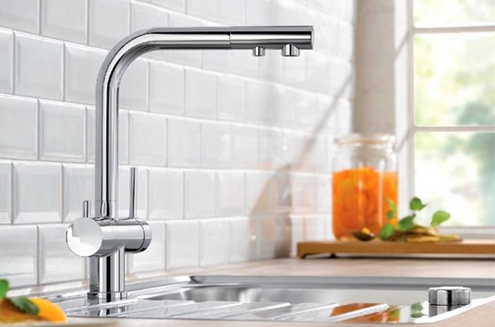 Vòi nước bằng Inox sang trọng và có độ bền rất cao