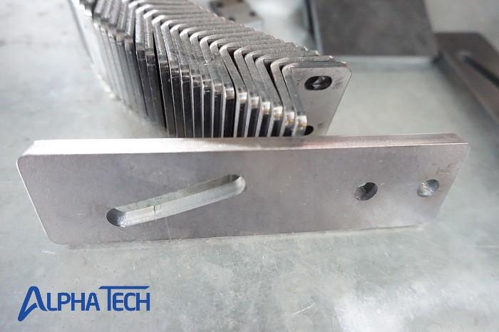 laser fiber giúp cạnh cắt bớt xám đen, cháy cạnh