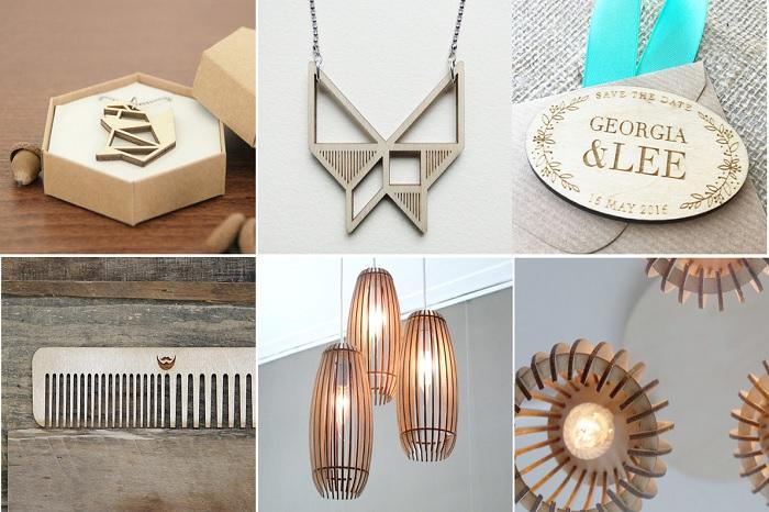Một vài sản phẩm từ gỗ ép bạch dương