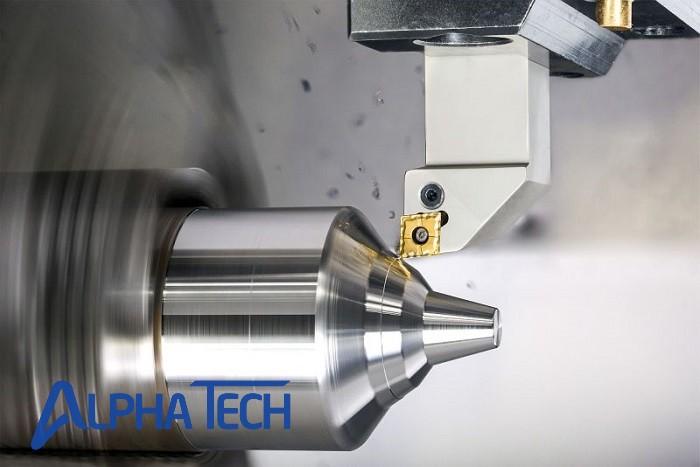 Tiện CNC kim loại